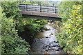 ST2198 : River Ebbw under Kendon Road bridge, Crumlin by M J Roscoe