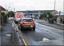 ST3090 : BSM driving school car in Pillmawr Road, Malpas, Newport by Jaggery