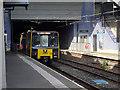 NZ3568 : Metro train at North Shields by John Lucas