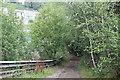ST2198 : Track down to Hafod-yr-ynys Road, Crumlin by M J Roscoe