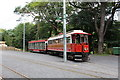 SC4384 : Manx Electric Railway tramcar 1 and trailer 40 at Laxey by Richard Hoare