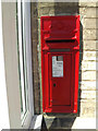 TL9969 : Post Office The Street George V Postbox by Adrian Cable