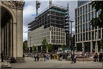 SJ8397 : St Peter's Square by Peter McDermott