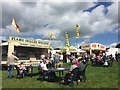 SJ7548 : Betley Show: food stalls by Jonathan Hutchins