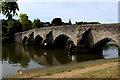 TQ7353 : East Farleigh Bridge by Chris Heaton