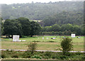SK3056 : Rain stopped play at Cromford CC by John Sutton