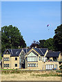 NU2410 : A grand modern house at Alnmouth by John Lucas