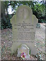 TM2648 : Headstone of a simple man - Horace Reynolds (Poll) by Adrian S Pye