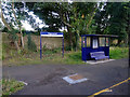 NZ2287 : Waiting shelter at Pegswood Station by John Lucas