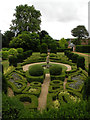 TL5338 : Dutch Garden, Bridge End Gardens by Keith Edkins