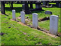 NZ3179 : Commonweatlth War Graves in Blyth Links Cemetery by John Lucas