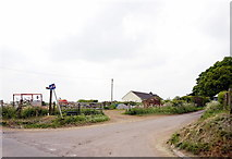 ST7037 : Copplesbury Lane at Copplesbury Farm by Ian S