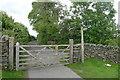 SD5397 : Gate across the narrow lane 'Garnett Folds' by Tim Heaton