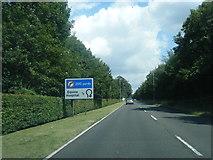 TL6061 : A1303 near Edgerton Lodge by Colin Pyle