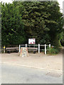 TL9875 : Hepworth Village Map & Notice Board by Adrian Cable