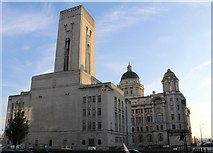 SJ3490 : Queensway Tunnel Ventilation Shaft and Control Station, Liverpool by Richard Hoare