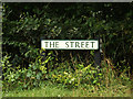TL9775 : The Street sign by Adrian Cable