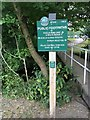 SK3288 : Peak & Northern Footpaths Society sign #515 by Graham Hogg