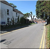 SZ1593 : No parking in Station Road, Christchurch  by Jaggery