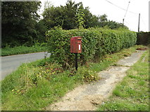 TL9875 : The Street Postbox by Adrian Cable