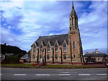 NH5558 : The Free Church of Scotland, Dingwall by Bill Henderson