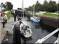 NN1176 : Boats ascending Neptune's Staircase, Caledonian Canal by Bill Henderson
