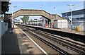SU4416 : Older footbridge at Southampton Airport (Parkway) railway station by Jaggery