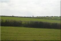 SW9751 : Farmland by the Cornish Main Line by N Chadwick
