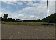 TM0890 : New Buckenham Playing Field by Adrian Cable