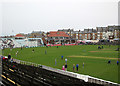 TA0389 : Scarborough Cricket Ground by John Sutton