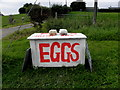 H4969 : Eggs for sale, Edenderry by Kenneth  Allen