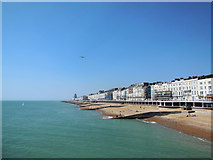 TQ8109 : Hastings Beaches by Paul Gillett
