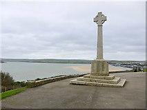 SW9276 : War Memorial St Saviour's Point by Nigel Mykura