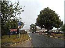 SJ9300 : Hospital Entrance View by Gordon Griffiths