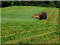 H4565 : Cutting grass, Blackfort by Kenneth  Allen