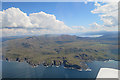 NM4768 : The Ardnamurchan Volcano from the Air (2) by Anne Burgess