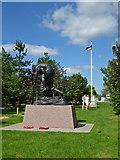 SK1814 : National Memorial Arboretum - RAMC Memorial by Chris Allen