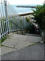 TR2336 : East Cliff steps by John Baker