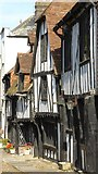 TQ9220 : Houses on Church Square, Rye by Philip Halling
