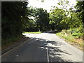 TM0669 : B1113 Walsham Road, Finningham by Geographer