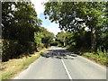 TM0670 : B1113 Walsham Road, Finningham by Geographer