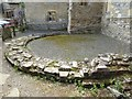 SO8729 : Remains of the apse, Deerhurst church by Philip Halling
