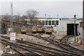 SK3586 : Diesel depot by Andrew Abbott