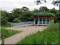 SK6008 : Toilet block at Watermead Country Park by Andrew Tatlow