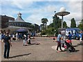 SZ0891 : Bournemouth: Davis Cup Trophy Tour at The Square by Chris Downer
