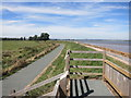 SX9785 : Viewing Platform on the Exe Valley Way by Des Blenkinsopp