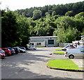 SO2701 : Wooded hillside above Pontnewynydd Industrial Estate by Jaggery