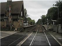 TQ2151 : Betchworth railway station, Surrey by Nigel Thompson