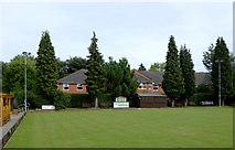 SO9096 : Bowling green in Penn, Wolverhampton by Roger  Kidd