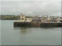 SC2484 : East Quay breakwater, Peel by Christine Johnstone